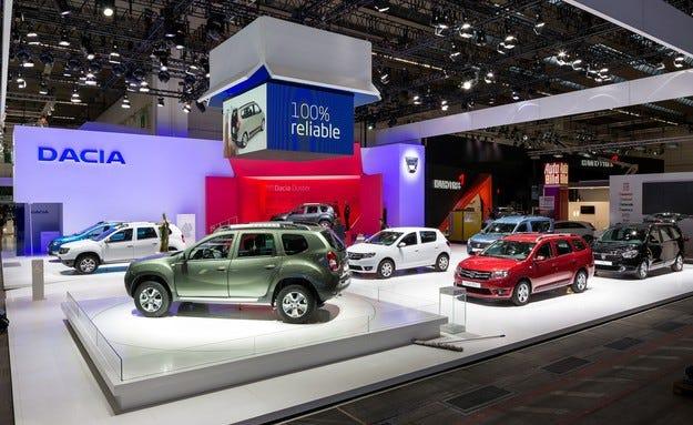 Dacia се движи стремително нагоре