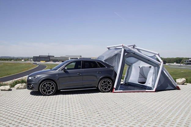 От Audi Q3 направиха туристически кросоувър