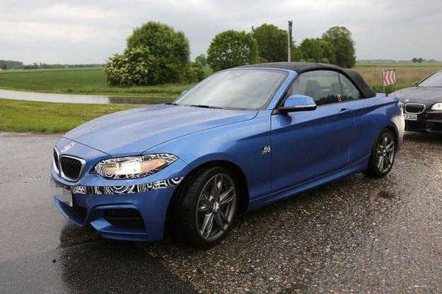 Премиера на BMW Серия 2 Cabrio през това лято