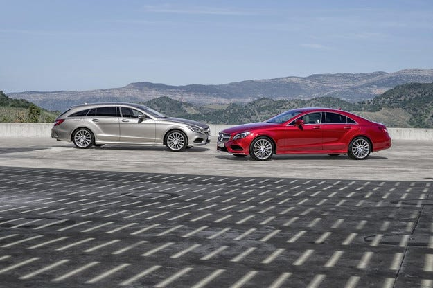 Mercedes-Benz напълно разкри обновения CLS