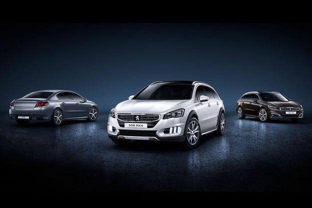 Peugeot 508 с ново лице и нови технологии