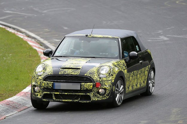 Mini Cooper S Cabrio: Дойде ред и на откритата версия