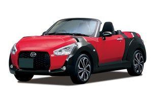 Японският Daihatsu представи серийния роудстър Copen
