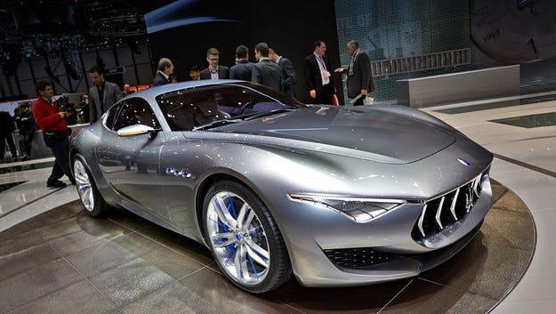 Концептът Maserati Alfieri става серийно купе през 2016