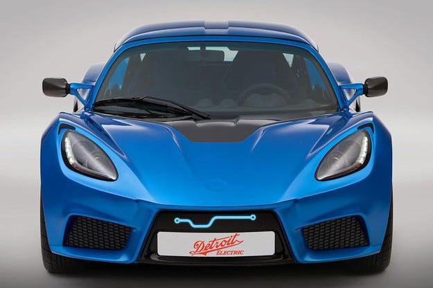Detroit Electric SP:01: Електрически спортист на база Lotus