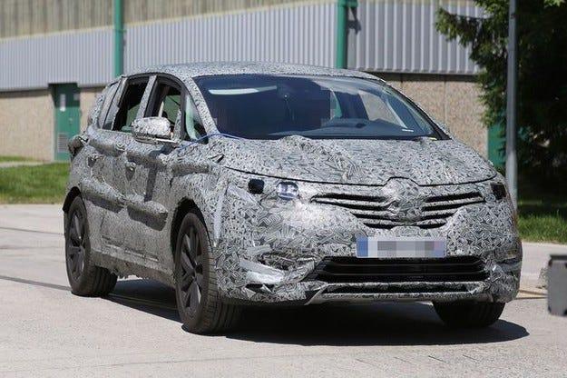 Пето поколение Renault Espace: Премиера в Париж