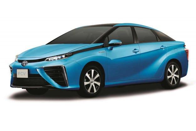 Toyota разкри как ще изглежда водородният автомобил