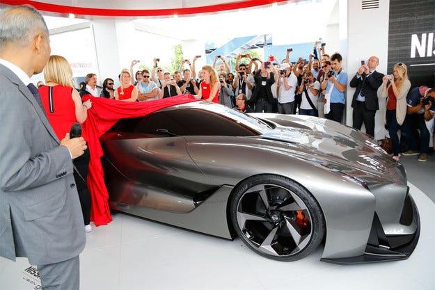 Nissan направи реален концепт Vision Gran Turismo