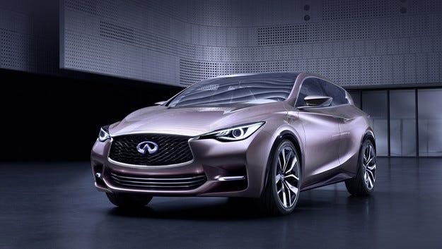 В завода на Nissan в Съндърланд ще сглобяват Infiniti Q30 и QX30
