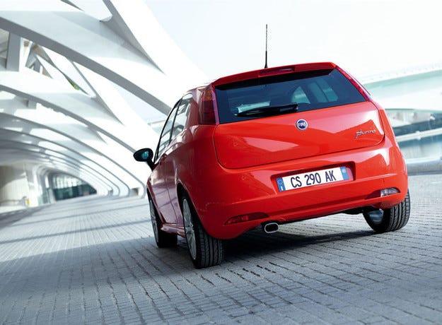 Последно обновяване на хечбека Fiat Punto