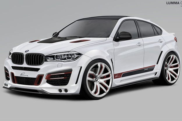 Lumma CLR X 6 R BMW X6 се готви за салона в Женева