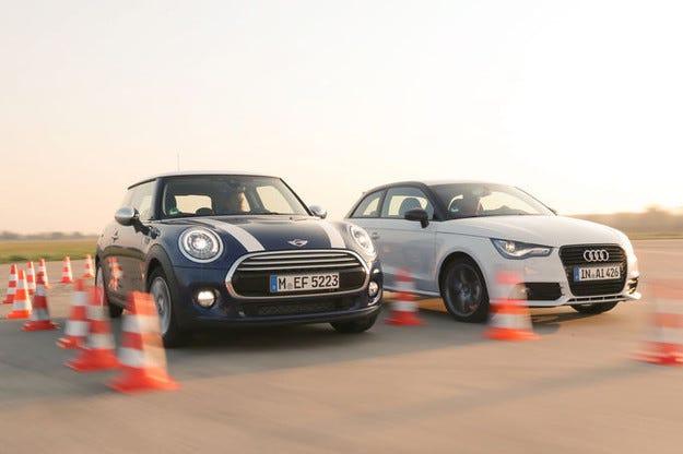 MINI Cooper срещу Audi A1 1.4 TSI