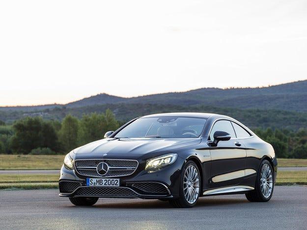 Mercedes-Benz представи най-мощното купе S-класа