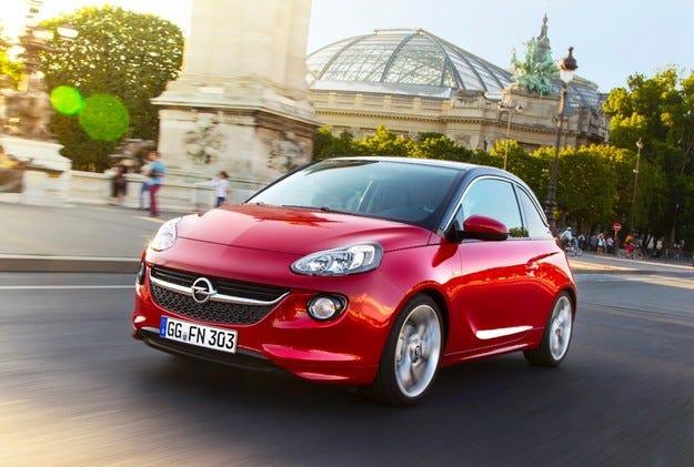 Opel ADAM: Максимум динамика при минимум разход на гориво