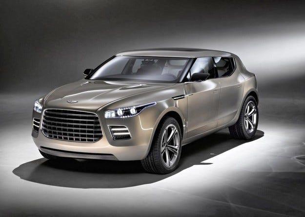 Aston Martin се отказва да прави високопроходим модел