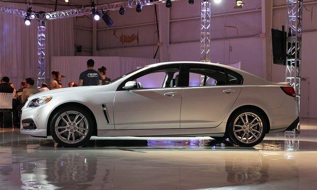 Chevrolet SS ще получи шестстепенна ръчна трансмисия