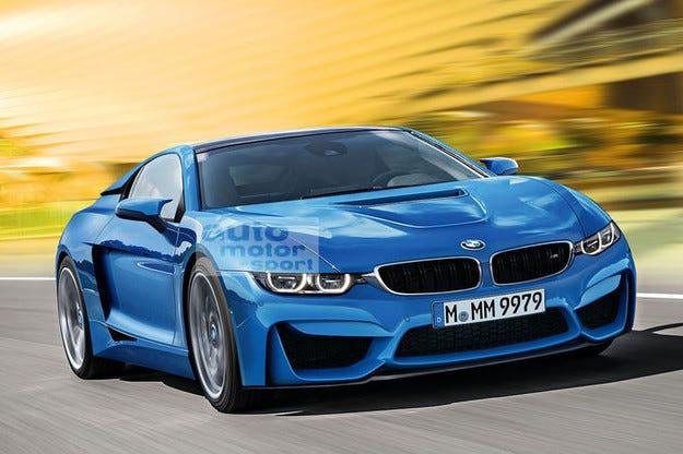 Супер спортно BMW i9 по случай 100- годишния юбилей