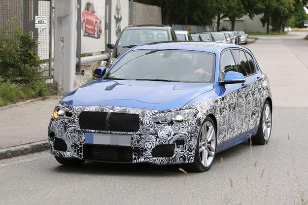 Подготвят променена физиономия на BMW Серия 1