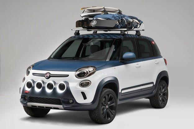 Компанията Fiat разработи автомобил за сърфисти