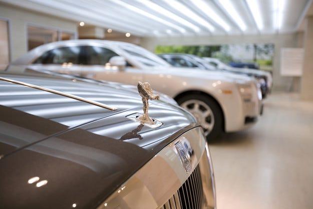 Rolls-Royce ще преобрази Wraith в кабриолет