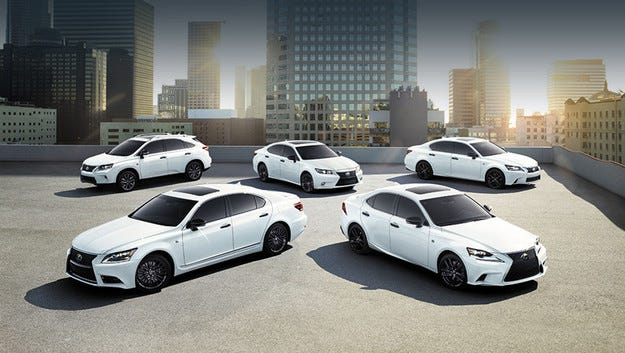 Lexus пуска специална версия The Crafted Line