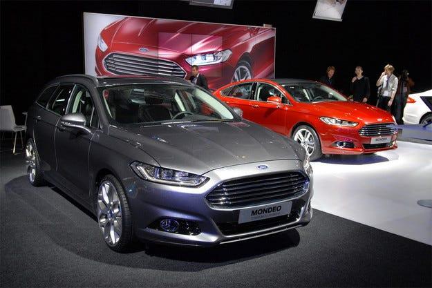 Новият Ford Mondeo пристига в Европа със самочувствие