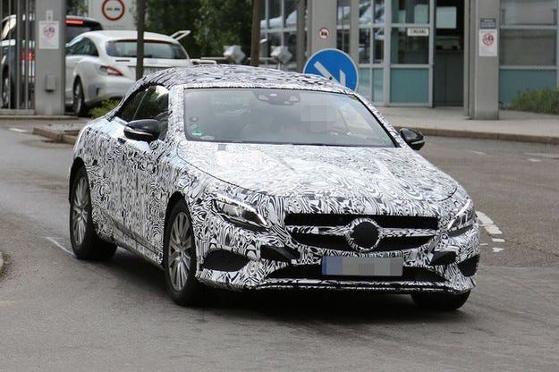 Mercedes S-класа кабриолет: Дебют през 2015