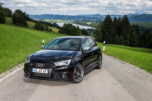 310 к.с. за състезателното джудже Abt Audi S1