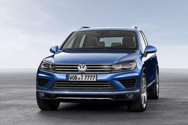 VW Touareg: Шлифована визия и технология