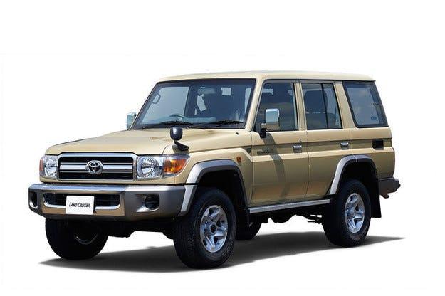 Toyota Land Cruiser 70: Издание за 30-ия рожден ден