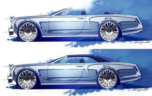 Концепция на Bentley Mulsanne се връща в играта