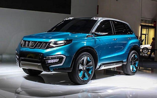 Suzuki разкри част от външния вид на новата Vitara