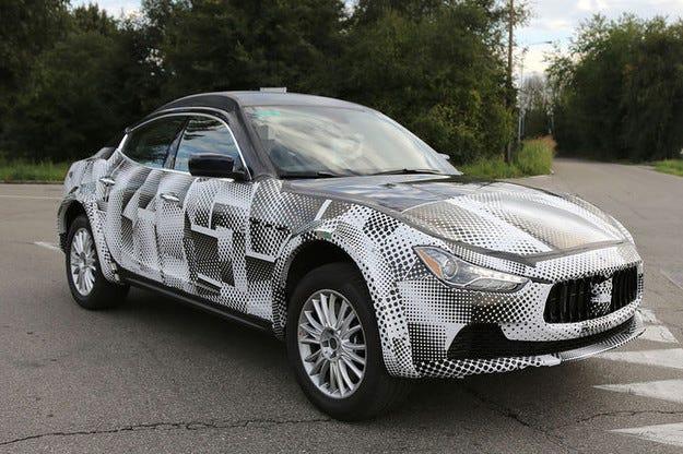 Maserati Levante: Луксозният SUV стартира през 2015