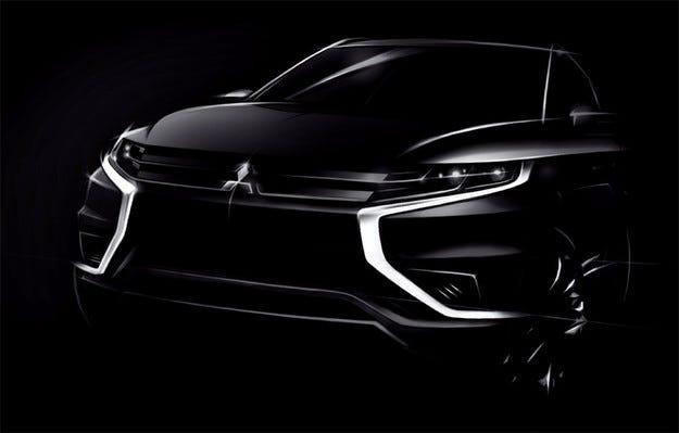 В Париж ще видим концепт на нов Mitsubishi Outlander PHEV