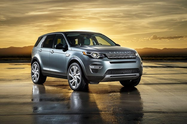 Land Rover разкри изцяло новия кросоувър Discovery Sport