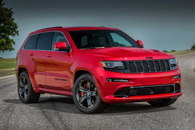 "Jeep представи ""напомпания"" Grand Cherokee SRT 2015"