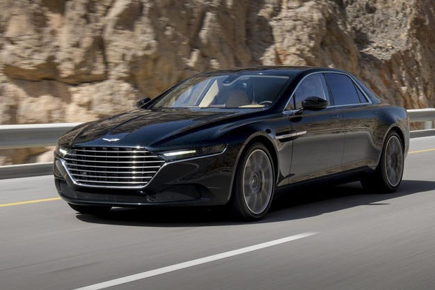 Aston Martin свали завесата от седана Lagonda