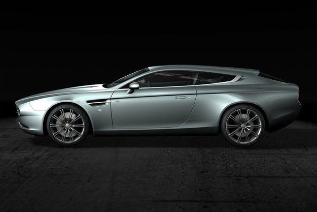 В ателието Zagato направиха ексклузивен Aston Martin