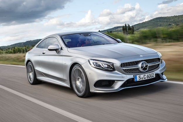 Mercedes S 500 4-Matic Coupe