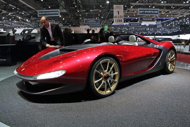 Ferrari иска да произвежда Pininfarina Sergio