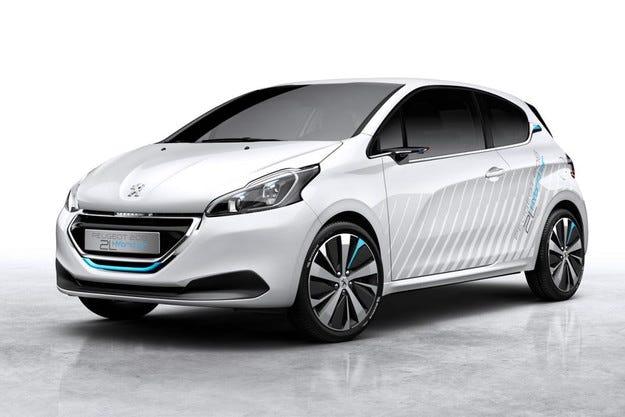 Peugeot 208 със задвижваща система Hybrid Air