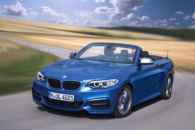 BMW представи откритата версия на Серия 2
