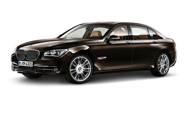 BMW Серия 7 индивидуално финално издание в Париж