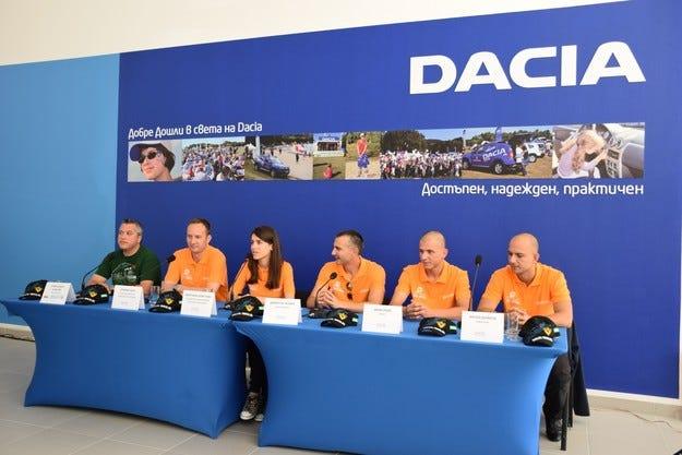 DACIA RALLY TEAM с дебют в Balkan Breslau Rallye