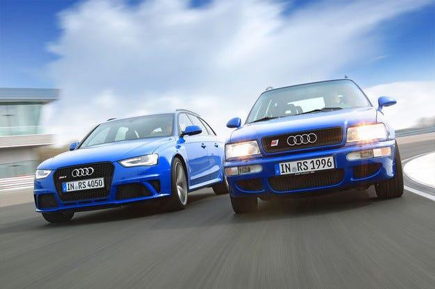 Audi RS2 Avant и RS4 Avant