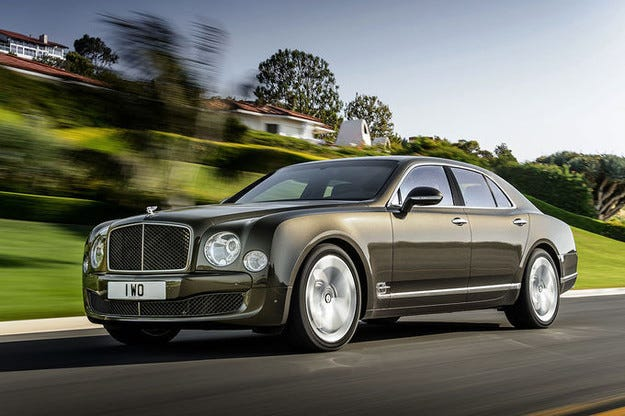 "Bentley Mulsanne с ""напомпана"" версия Speed"