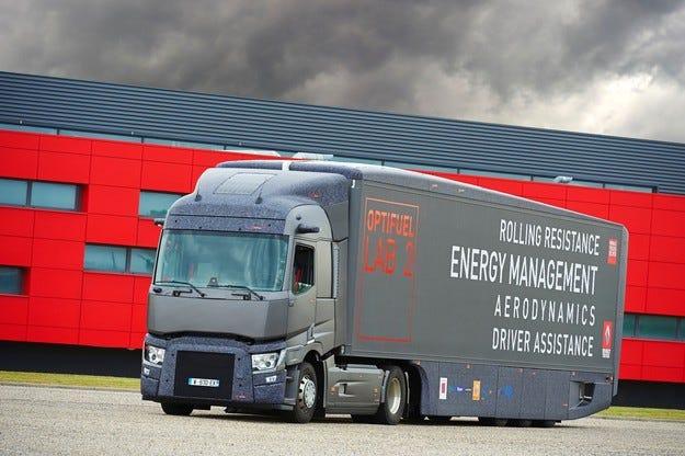Renault Trucks представя камиона Optifuel Lab 2