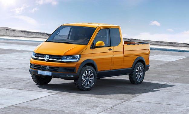 Volkswagen показа в Хановер концепт на нов пикап