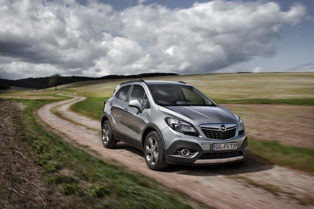 Opel Mokka с нов турбодизелов двигател 1,6 CDTI