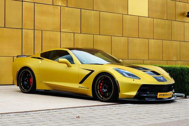 Geiger Cars Chevrolet Corvette C7 вече с 590 к.с.
